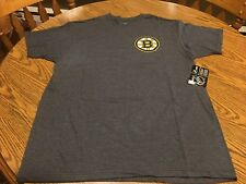 Boston Bruins NHL Men's G-III Sports Black T-Shirt Size Large - New