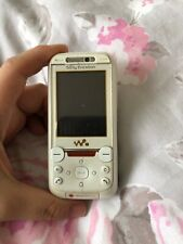 Sony Ericsson Walkman W850i - White (Vodafone) Mobile Phone