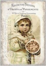 Decoupage-Serviettentechnik-Softpapier-Vintage-Nostalgie-French-12207