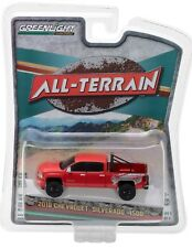 1:64 GreenLight *ALL-TERRAIN R6* Red 2018 Chevy Silverado LIFTED 4x4 NIP!