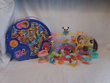 Littlest Pet Shop Tricks & Talent Show Playset + 8 pets + Case + Large Plush