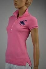 Ralph Lauren Pink Big Ponies Match Polo Shirt Big Pony Match Medium NWT