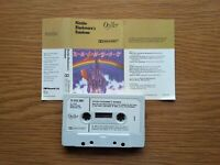 RITCHIE BLACKMORE'S RAINBOW 1975 UK CASSETTE TAPE OYSTER PAPER LABELS TESTED