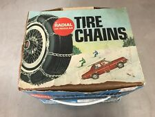 Peerless Car Auto Snow Tire Chains Twist Link 1240-10-2 ONE PAIR Radial or Regul