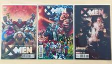 EXTRAORDINARY X-MEN #8 NAUCK FRANCIS YU LASHLEY VARIANT COVER SET 2016 NM