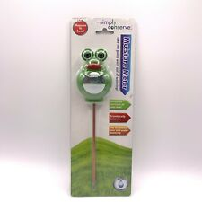 Simply Conserve Moisture Meter Frog Green Save Water Conservation Garden Lawn