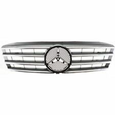 For C240 01-05, Grille Insert, Silver, Plastic