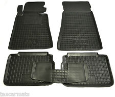 Rubber Car Floor Mats All Weather Fully Tailored fit BMW E34 1987-1996 M5