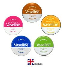 VASELINE LIP BALM THERAPY 20g Petroleum Jelly Tinted Heal Dry Chapped Lips Gift