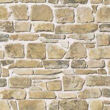 MURO di pietra effetto carta da Parati Rasch Da-Naturale 265606