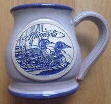 1980s 1990s MINNESOTA NORTHERN STATES POWER COMPANY COFFEE MUG, BLUE GRAY DENEEN