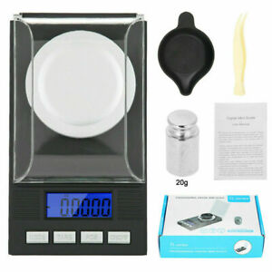 Portable High  0.001g 20g Pocket Digital Jewelry Scale LED Display HOT