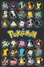 POKEMON - ALL TIME FAVORITES POSTER - 22x34 - CHARACTERS 15821