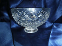 Waterford ALANA Footed Crystal Bowl 6 inch