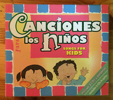 Canciones Para Los Ninos by Twin Sisters (CD, 2007, 3 Discs, Twin Sisters)