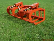 "2019 MTL Attachments HD 60"" Skid Steer Root Grapple-Universal fit - FREE SHIP"