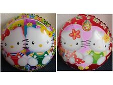 "Due X NUOVA Elio/Aria Foil Balloon BIADESIVO 18"" PARTY DI HELLO KITTY"