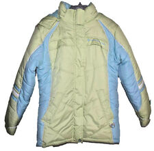 Protection System Girls Snowboard Ski Winter Coat Green Blue Size 14 L Large