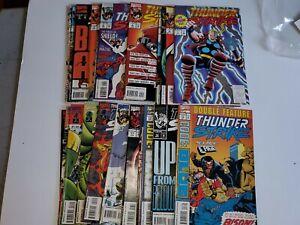 Thunderstrike 1-24 NEAR Complete Set Marvel  1993 MISSING # 23 THOR COMICS #1