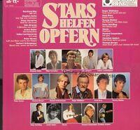 Stars helfen Opfern ('Weisser Ring', 1983, white vinyl) Peter Schilling, .. [LP]