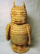 """Papago Basket Owl- 9 """" tall"""