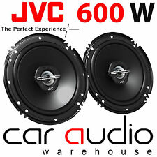"JVC CS-J620X 6.5"" 16cm 2 Way 600 Watts Car Van Door Coaxial Speakers Pair"