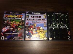 Super Smash Bros. Melee, Mario Kart Double Dash, Matrix (Nintendo GameCube)