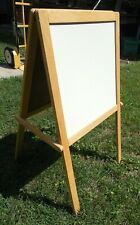 """Kid's Child's Youth's Green & White Board Folding Easel 24"""" w x 44"""" t"""
