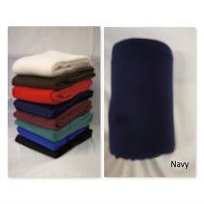 Navy Multi purpose Polar Fleece Blanket