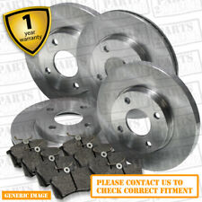 Vauxhall Meriva B 1.6 Twinport 104 Rear Brake Pads Discs 264mm Solid