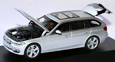 BMW 3er Touring F31 Glacier silber silver metallic 1:43 Paragon