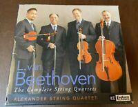 Beethoven~Complete String Quartets~9 CD BOX~Alexander Quartet~Excellent~Foghorn