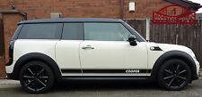 Bmw Mini Cooper Clubman R55 Rayas Laterales Set genuino 3m Oe Calidad Vinilo calcomanías