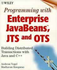 Programming with Enterprise JavaBeans, JTS, and OTS: Building Distributed Transa