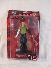 Jeff Hardy Raw Draft Figure WWE WWF Jakks Pacific Hardyz Hardy Boyz TNA NEW