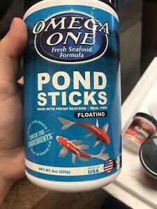 Omega One Pond Sticks 8oz.