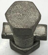 20HPS BLACKBURN USED 2/0-6-AWG HIGH STRENGTH SPLIT BOLT CONNECTOR USED