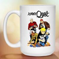Jonny Quest, Johnny, Retro, Cartoon, 1960's, White Coffee Mug 11oz 15oz