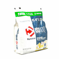 Dymatize ISO-100 Whey Protein Isolate 6Lb Bag 90Srv Better Than ON Gold Standard