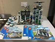 LEGO - CITY POLICE STATION PLUS 4 OTHER POLICE SETS