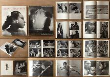 GOTTHARD SCHUH - 2 PHOTOBOOKS: ILE DES DIEUX+INSTANTS VOLES, INSTANTS DONNES