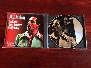 MILT JACKSON - Memories Of Thelonious Sphere Monk - CD / Pablo 1995