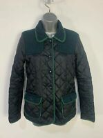 WOMENS NEXT SIZE UK 6 NAVY BLUE CASUAL LIGHT WEIGHT QUILTED RAINCOAT JACKET