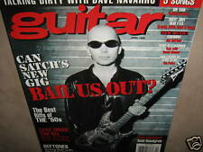 GUITAR April 1998 Joe Satriani Todd Rundgren TAB The Police Randy Rhoads CSN&Y