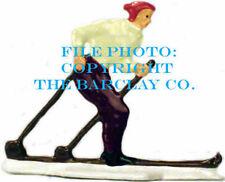 Man Skiing - Vintage Stlye German Flat Figure