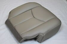 2003 2004 2005 06 Chevrolet Tahoe Suburban Passenger Bottom Seat Cover Light Tan