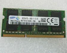 Samsung 8GB 2Rx8 DDR3L Ram Laptop 1600MHz PC3L-12800S SODIMM 204pin Memory