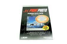 "Jet PRINT PHOTO Premium Photo Paper 60 SHEET BOX Gloss Finish 4"" x 6"" NEW Sealed"