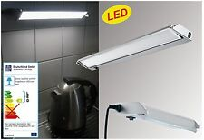 LAMPADA PER SOTTOPENSILE LED 34cm ALLUMINIO CUCINA Barra luminosa orientabile da