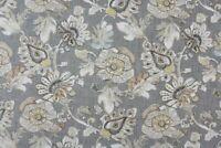 ALMADA GRANITE RICHLOOM Cotton Floral Jacobean Drapery Upholstery Print Fabric